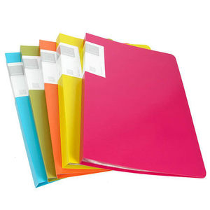 Image 3 - 20/30/40/60 Pockets Booklet A3 Folder PVC Bag Transparent Document Bag For Documents A3 Paper File Organizer