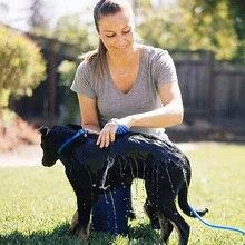 Новые поступления ладонь собака скруббер и опрыскиватель пэт силиконовые массаж рук перчатки собака мыть водой и Кисточки Тематические товары про рептилий и земноводных
