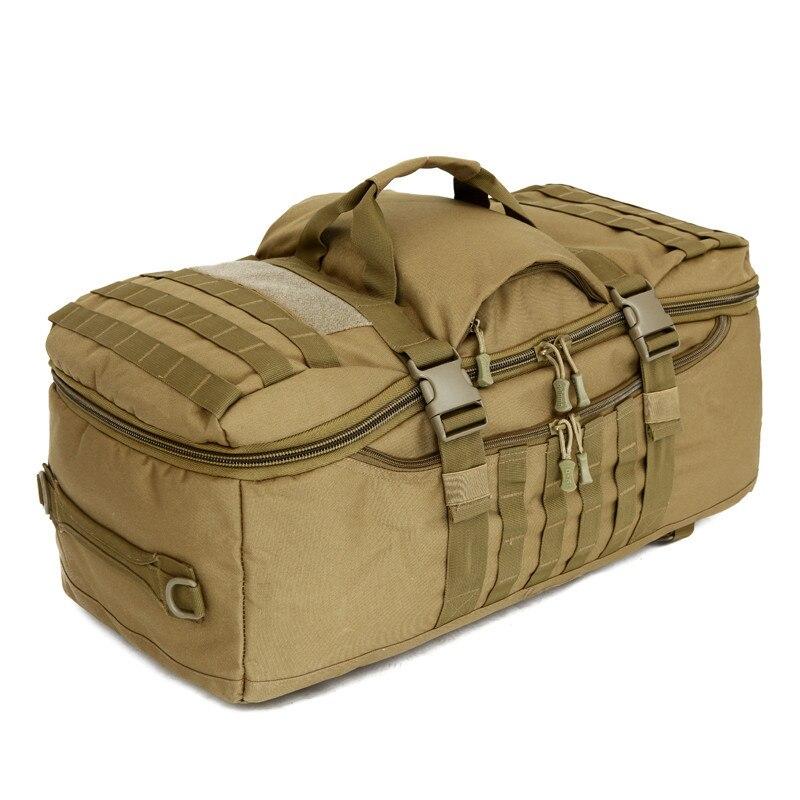 75L нейлон 900D большой многоцелевой Спорт на открытом воздухе тактический рюкзак Кемпинг Туризм рюкзак для альпиниста Альпинизм спортивная с...