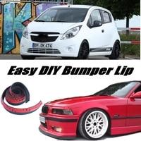 NOVOVISU For Chevrolet Spark Bumper Lip Lips / Spoiler For Car Tuning / Body Kit + Strip / Front Skirt