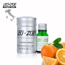 Pure Orange sweet Oil Famous Brand LEOZOE Certificate Of Origin Italy High Quality Orange sweet Essential Oil 10ML