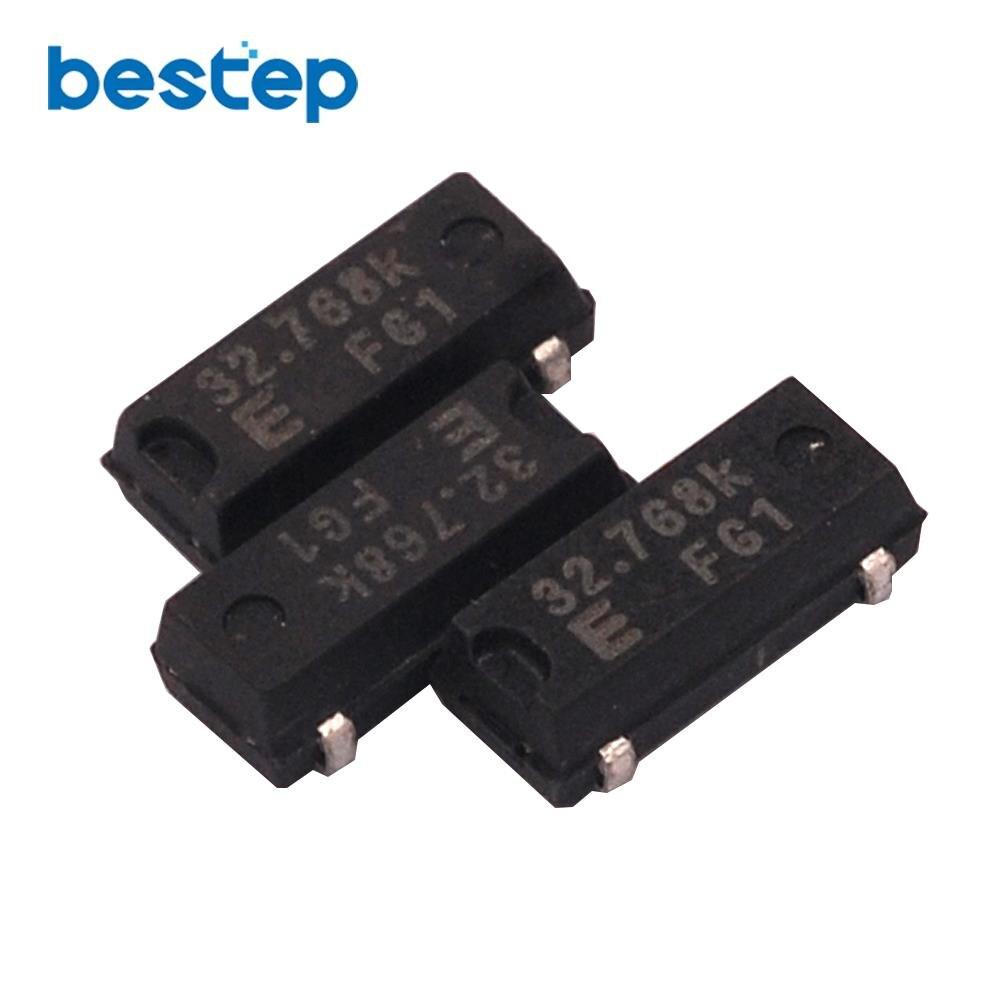 100Pcs 32.768KHZ 32768HZ Crystal Oscillator MC-306 MC306 sn