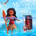 New Hot 12inch Princess Moana Doll Kawaii PVC Action Figure Toy Anime New Year Birthday Gifts For Baby Girls Brinquedos WU947