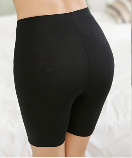 e80df8a25afee7 Women Hot Salel Ladies Knee-Length Short Leggings Under Skirts Comfortable  Lightweight Bamboo Underpants for Summer 3 Sizes