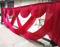 New Arrival 3 X 6 m Wedding Backdrop Centerpiece Swags Party Curtain Celebration Stage Backdrop Drapes Decoration Supplies