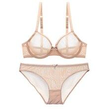 Transparent Bra Set Sexy Lace Lingerie