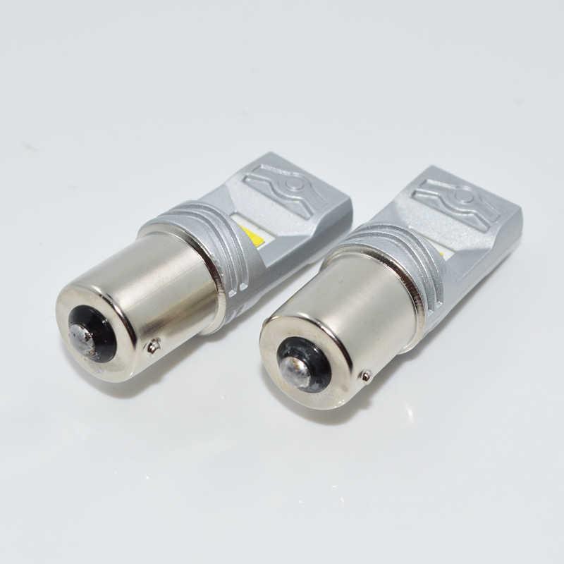 גבוהה כוח רכב Led 1156 1156 p 80 w גיבוי אורות P21W אוטומטי BA15S P21W DC 12 v-24 v אור שקע חניית הפיכת DRL led אור