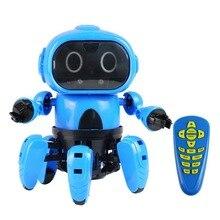 Обновленная Интеллектуальная Индукционная радиоуправляемая робот, инфракрасная игрушка-робот для избегания препятствий
