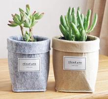 BS-5 couleurs fang couleurs noir épaississement tissu Pot plante poche racine conteneur cultiver sac outils jardin Pots jardinières fournitures