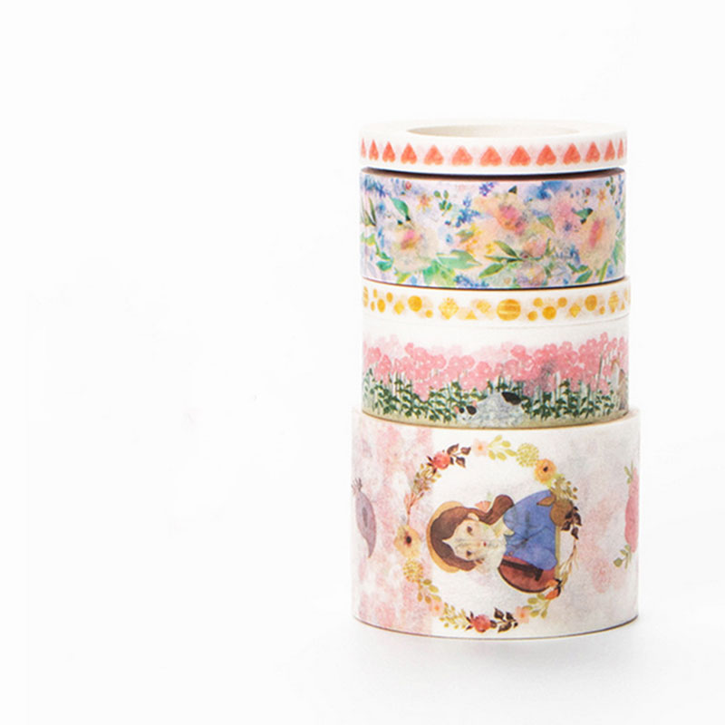 15mm*7m girl Pink is tender washi tape sticker kawaii stationery scrapbooking planner masking tape