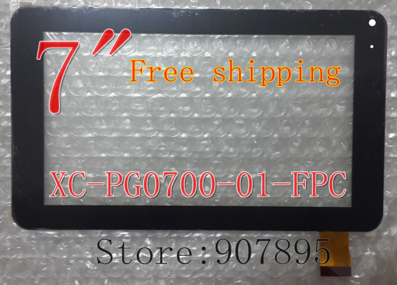 XC-PG0700-01-FPC XC-PG0700-01 7inch Capacitive Touch Panel Touch Screen Digitizer Glass For Tablet PC MID Noting Size And Color