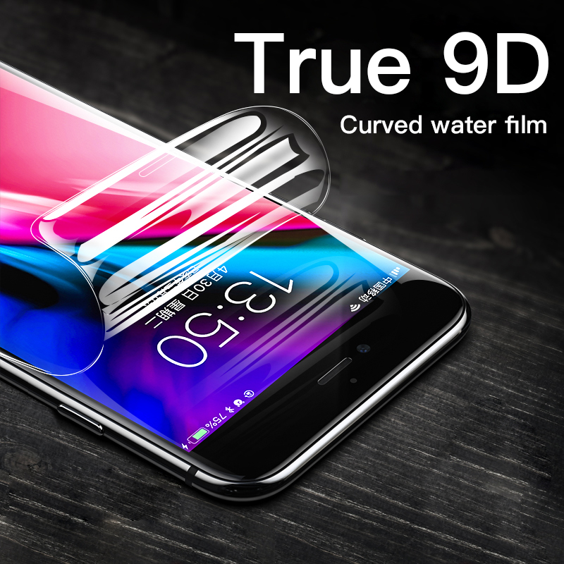 Transparent HD Soft Hydrogel Film Protector For iPhone 11 Pro XS Max XR X Full Cover Protective Screen For 8 7 6 6s Plus Film