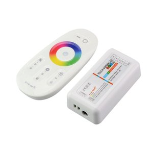 Image 2 - Touch Screen LED RGB/RGBW Controller 2.4G Wireless DC12 24V Touch Telecomando RF Per RGB/RGBW LED striscia