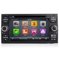 7 дюймов 2 Din dvd плеер автомобиля для Ford Focus Galaxy Fiesta S Max C Fusion транзит Kuga Indash gps Navi Радио Стерео Bluetooth