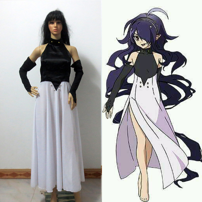 Seraph of the End Vampire Cos Asuramaru Dress Cosplay Costume