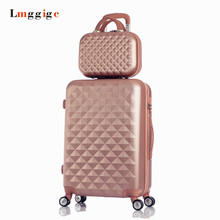 20″24″28″inch Rolling Luggage bag set,Suitcase with Universal wheels,Lightweight ABS Travel Box,Women's Wearable Trolley case