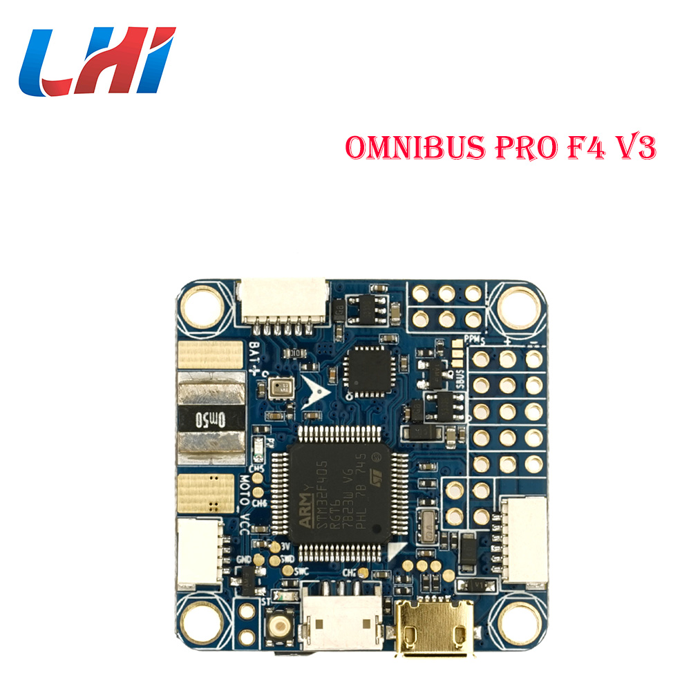 LHI Omnibus F4 pro V3 Flight controller Airbot Authentic drones with rc plane for Camera controlador helicopter for FPV Quadcopt