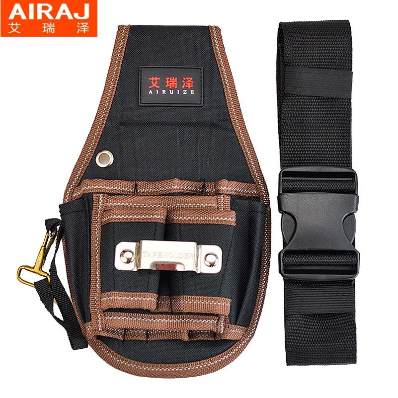 AIRAJ Hardware Bolsa de almacenamiento de herramientas de cintura con - Almacenamiento de herramientas - foto 4