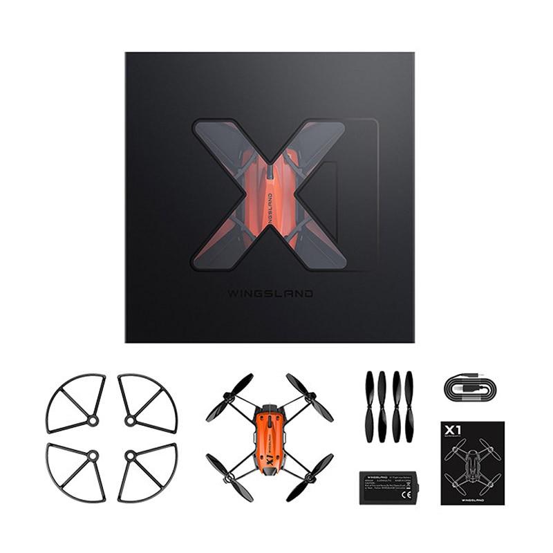 Wingsland Smart мини RC конкурс игра Drone Радиоуправляемые игрушки Дроны с Камера HD ве ...