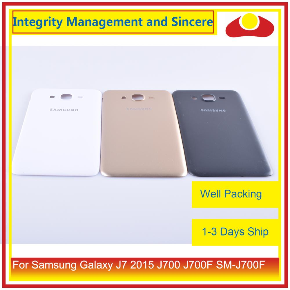 Image 2 - Original For Samsung Galaxy J7 2015 J700 J700F J700H J700M Housing Battery Door Rear Back Cover Case Chassis Shell-in Mobile Phone Housings & Frames from Cellphones & Telecommunications