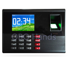 AC121 TCP/IP biometric fingerprint time attendance system English office employee time clock machine for access control system(China)
