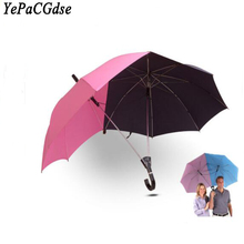 Creative automatic umbrella double large area couple lovers fashion multi-function windproof