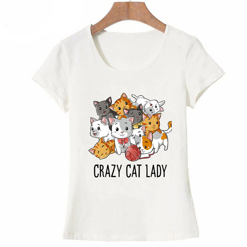 0fcd1d7c Buy cat lover t shirt and get free shipping on AliExpress.com