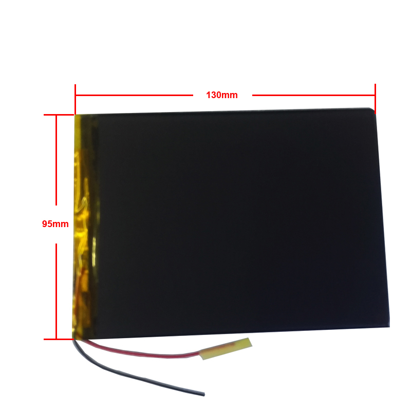 New Universal Battery 10.1 Inch For Irbis TX58 TX59 Tablet Battery 5000mah 3.7V Polymer Li-ion + Tracking 3595130