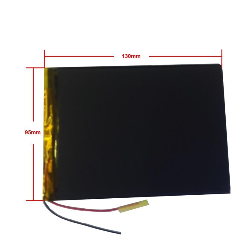 New Universal Battery 10.1 Inch For Irbis TX58 TX59 Tablet Battery 5000mah 3.7V Polymer Li-ion + Tracking 3595130