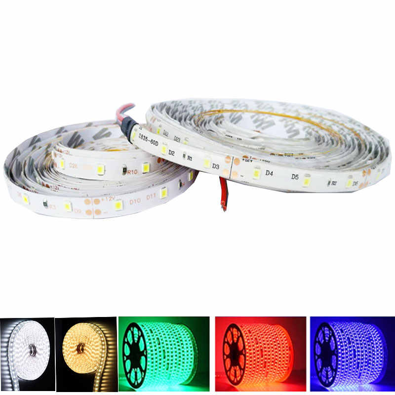 RGB led strip 3528 300 led SMD 2835 White Warm White 12V Waterproof Ribbon Flexible Diode Tape led stripe waterproof