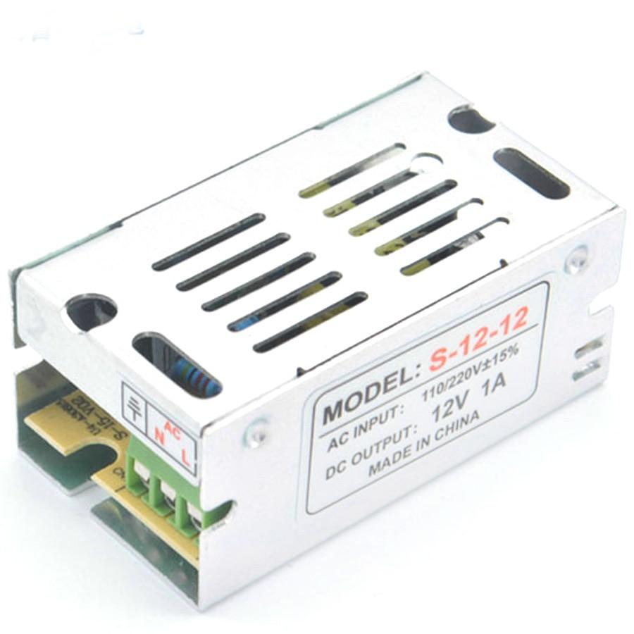 DC 12 V Transforms Switching LED Driver Strip Power Adapter Supply 12V 1A 2A 3A AC 220V Volt V power supply For LED strip light