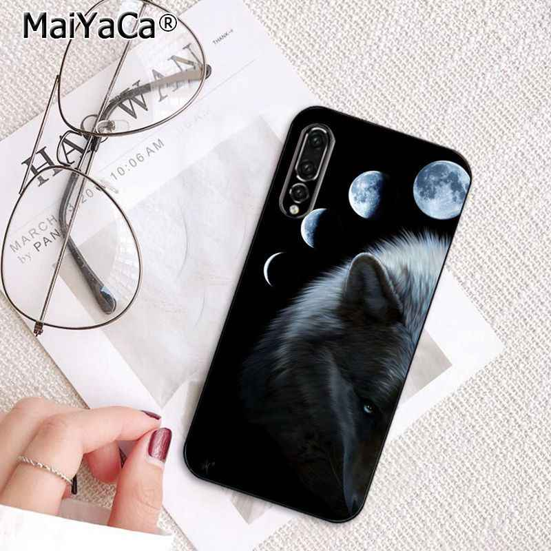 MaiYaCa 怒っ動物ウルフフェイス TPU ソフト電話ケース huawei 社 P20Lite P30Pro 1080p スマート Y5 Y6 Honor8A 8C 10i nova3 Mate20Lite