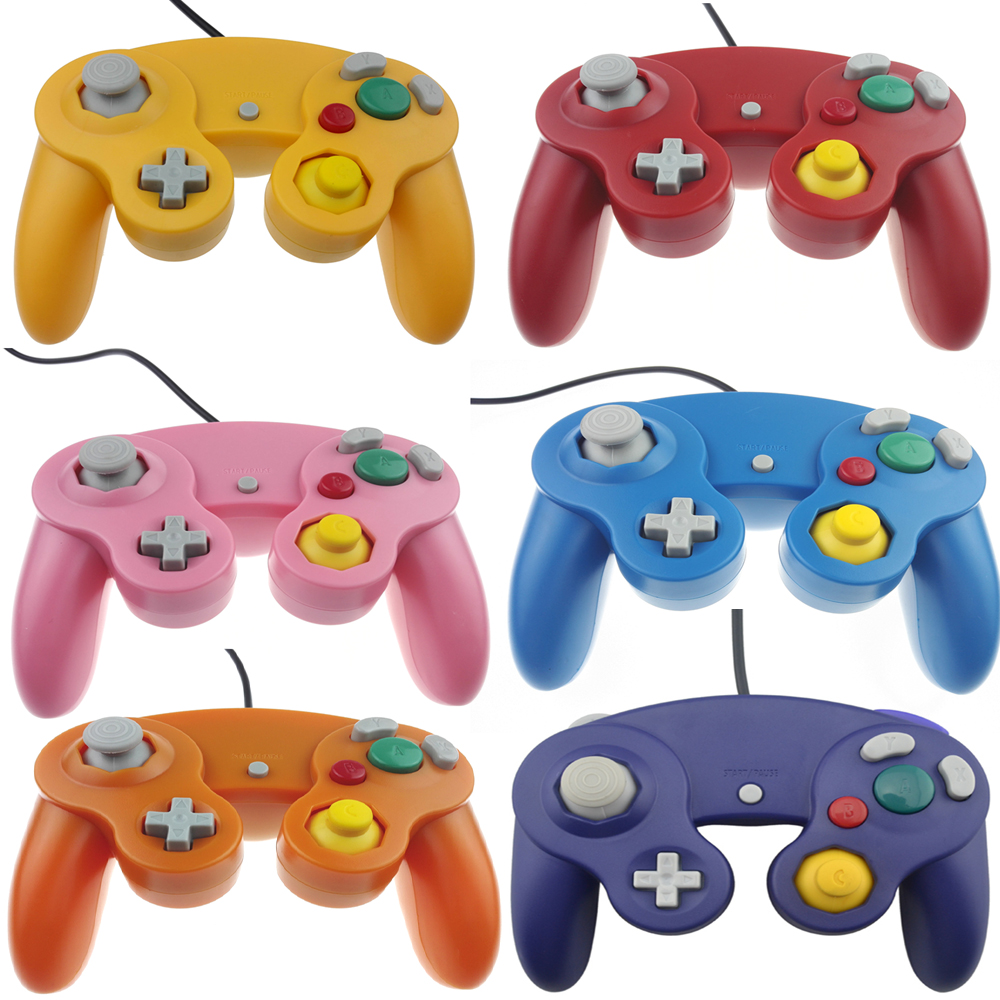 Wired Game Controller Gamepad for N-G-C Joystick for GameCube for Wii