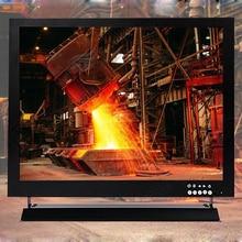 Eyoyo 15″ 15inch CCTV Security TFT LCD Monitor HD 1024*768 Video Monitor HDMl VGA BNC USB WOR