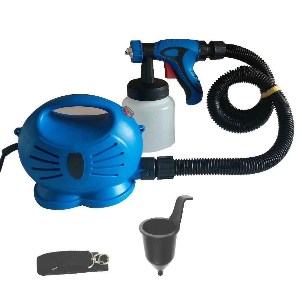 650W Airbrush With Compressor Airless Paint Sprayer HVLP LVLP Electric Spray Gun For Painting Cars Wall Furnature