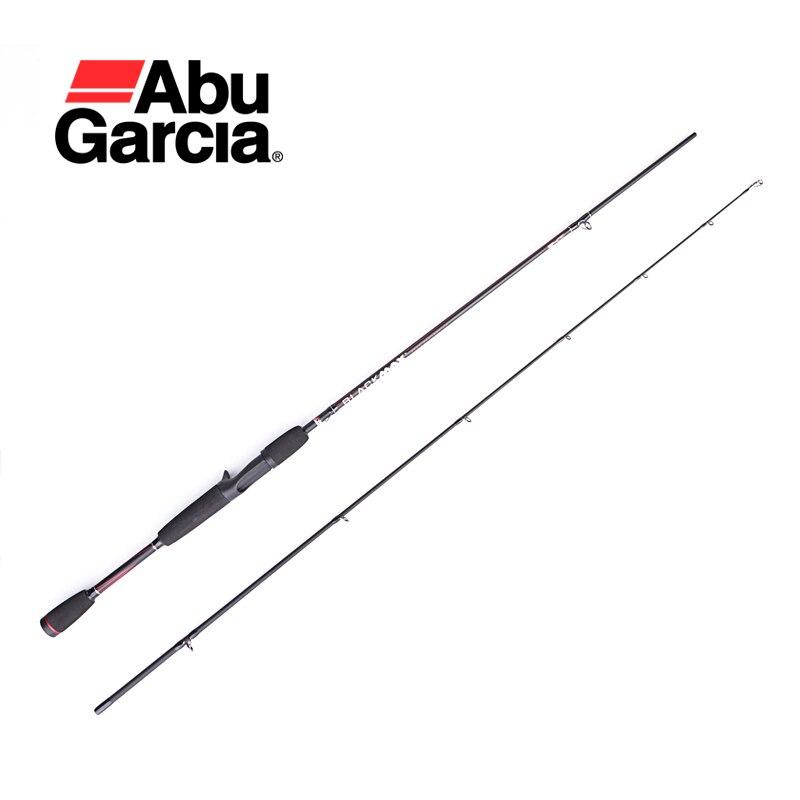 Casting-Rod Abu Garcia Carbon Brand MAX Black 2-Sec-M-Power-Rod 100%Original 6'6-BMAXC662M