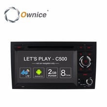 Ownice C500 4G ANDROID CAR DVD Entertainment Multimedia Video PLAYER for Audi A4 2002 2003 2004 2005 2006 2007 2008 GPS BT Radio