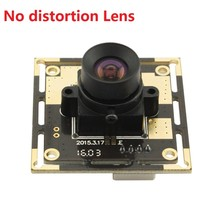 5megapixel CMOS OV5640 MJPEG 100degree no distortion lens 5MP industrial Camera with 1m USB cable for advertising / LED display