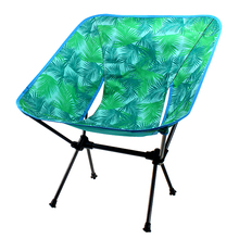 Outdoor folding camping chair 600D Oxford cloth beach with a storage bag max 200kg Hiking Picnic Seat Fishing Tools
