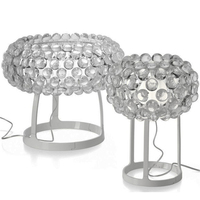 Transparent/Gold Metal Acrylic Table Lamp Italian Nordic Modern Luxury Designer Desk Lamp Bedroom Office Living Room TLL 303