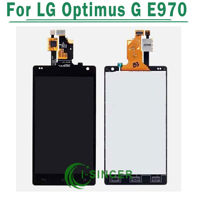 LCD Diaplay Screen For LG Optimus G E970 With Touch Digitizer Display Assembly Black Free Shipping