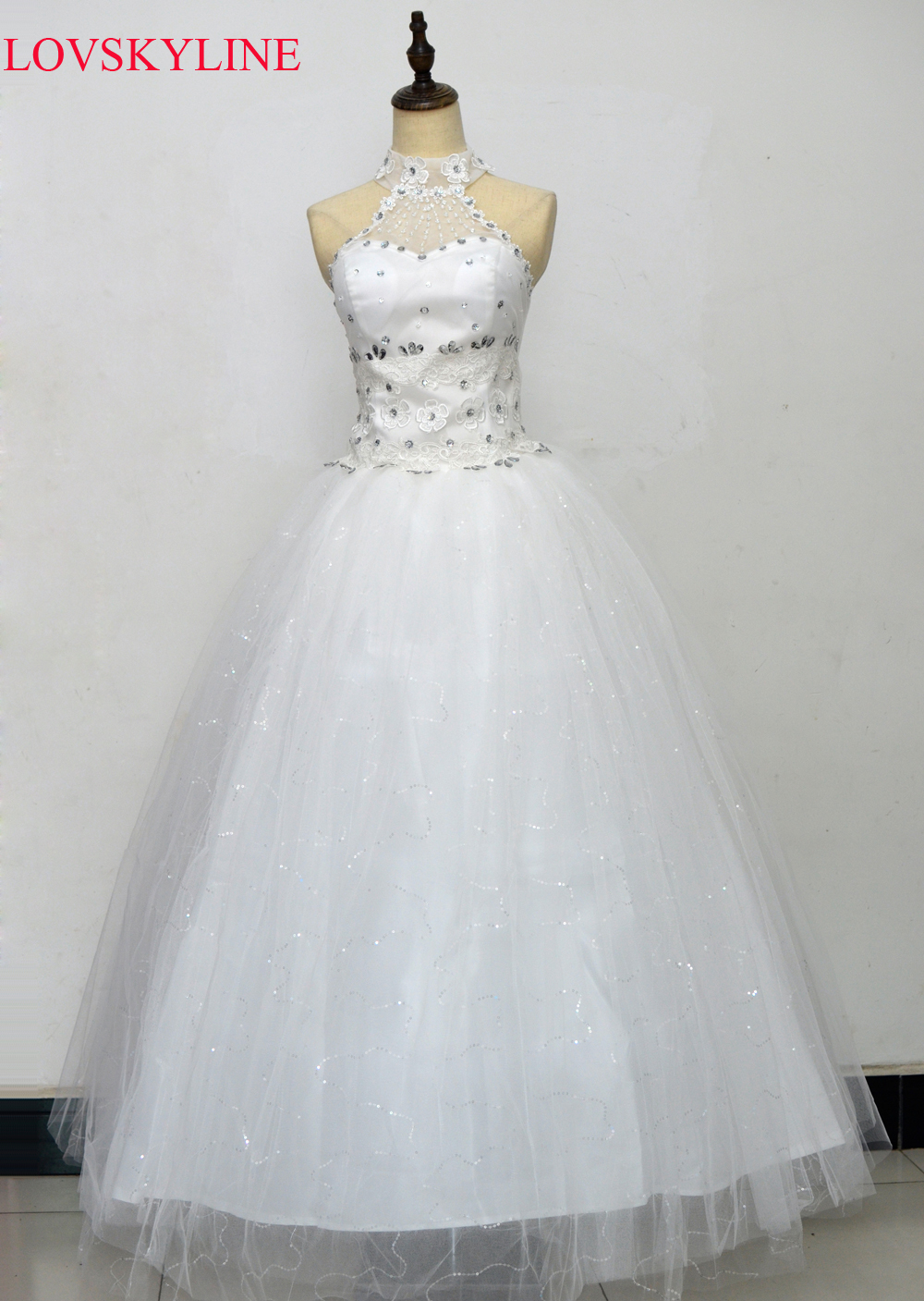2017 bridal tube top white long design strap slim plus size spring and summer Wedding Dresses