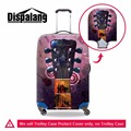 Dispalang custom protective luggage cover musical instruments print elastic trolley suitcase dust rain cover luggage accessories