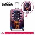 Dispalang personalizado instrumentos musicais imprimir elastic mala trolley bagagem tampa protetora contra poeira capa de chuva acessórios bagagem