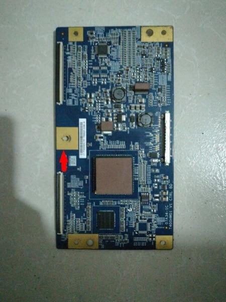 LCD Board T400HW01 V1 Logic board KLV-40F300A 07A34-1C 07A01-1A connect with T-CON connect board lcd board t400hw01 v0 07a01 1a logic board for screen klv 40f300a connector nocable