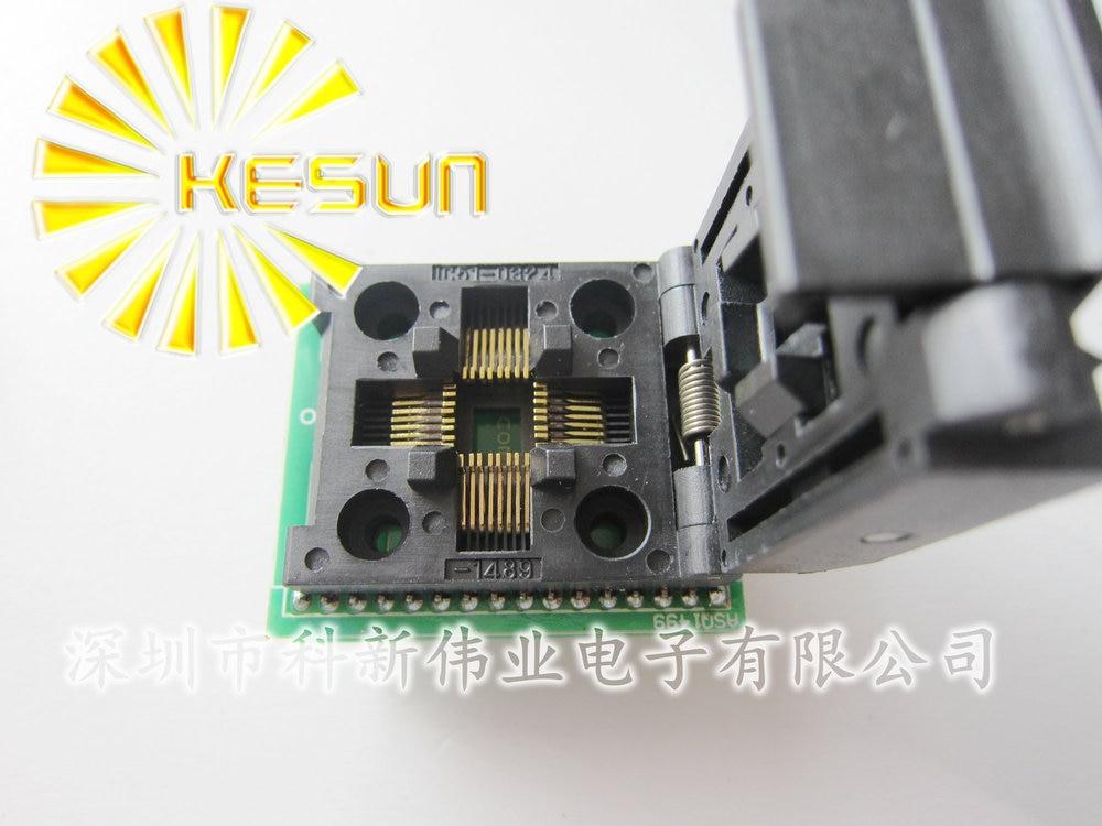 FREE SHIPPING LQFP32 TQFP32 QFP32  TURN DIP32  IC socket Programmer adapter Socket free shipping msop 10 msop10 universal adapter for usb programmer ic adapter sockets