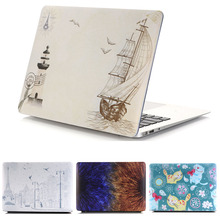 Snowflake Flower Suihua Garden Rubberized Hard Sleeve cover Case For Apple mac MacBook Air 11/13 Pro 13 12 With Retina Display apple macbook pro 13 with retina display mf841 ru a