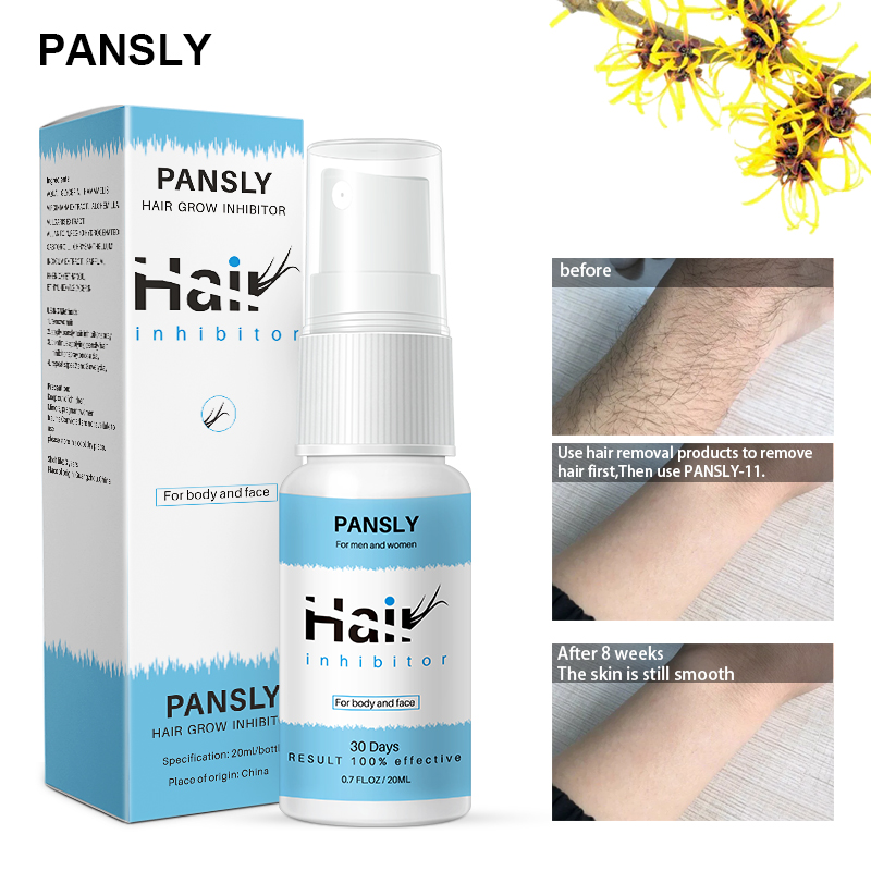 Organic Herbal Permanent Hair Growth Inhibitor After Hair Removal