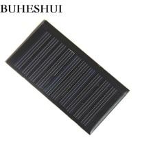 BUHESHUI 5V 45MA Mini Solar Cell Polycrystalline DIY Solar Panel Battery Charger For 3.7V Led Light 66*35.5MM 100pcs Wholesale
