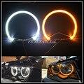 Guia de luz SMD LEVOU angel eyes para BMW E36 E38 E39 E46 carro auto LEVOU farol BMW SMD LED angel eyes anel de halo anel para BMW